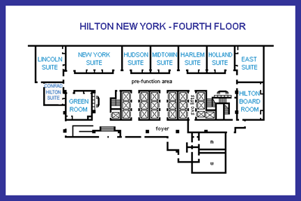 Hilton New York Fourth Floor